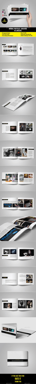 GraphicRiver Minimal Portfolio Brochure 10991662