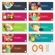 Set of Banners  - GraphicRiver Item for Sale