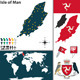 Map of Isle of Man - GraphicRiver Item for Sale