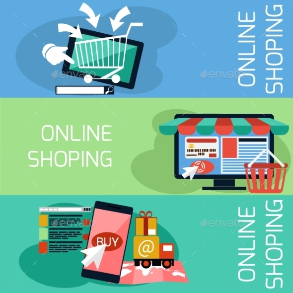 GraphicRiver Online Shopping 10991851