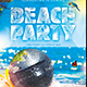 Beach Party Flyer/Poster - GraphicRiver Item for Sale