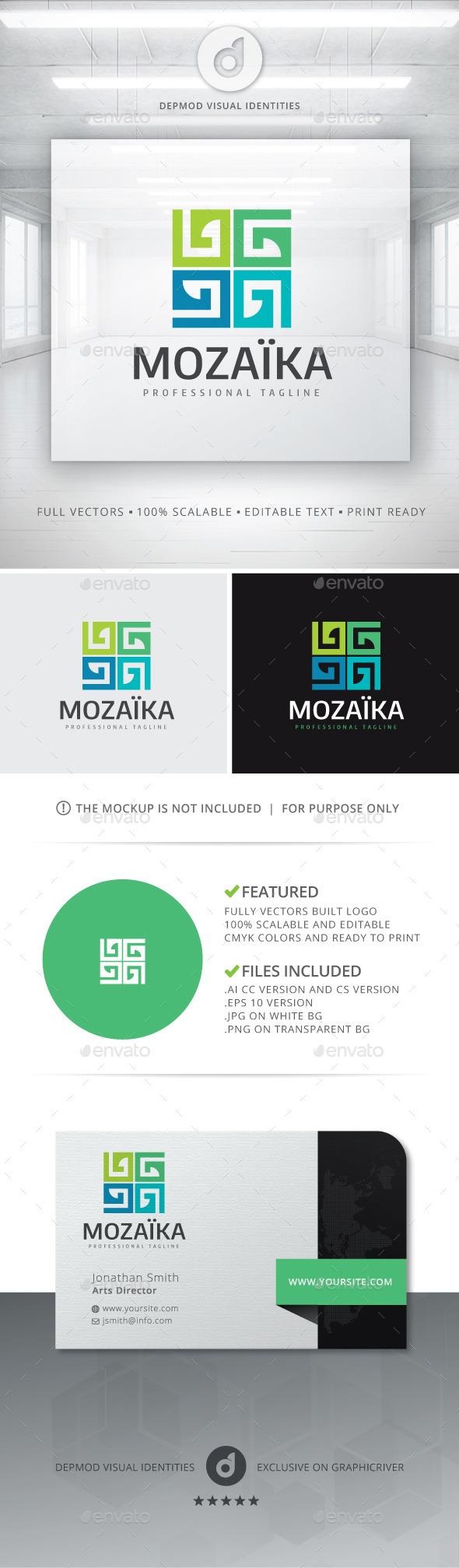 GraphicRiver Moza ka Logo 10992280