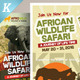 Wildlife Safari Flyer Templates - GraphicRiver Item for Sale