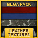 Mega pack - 15 leather textures - GraphicRiver Item for Sale