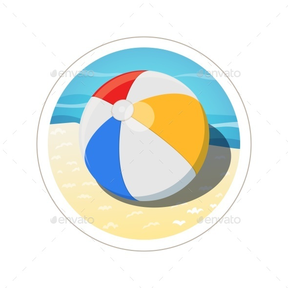 GraphicRiver Beach Ball 10992628