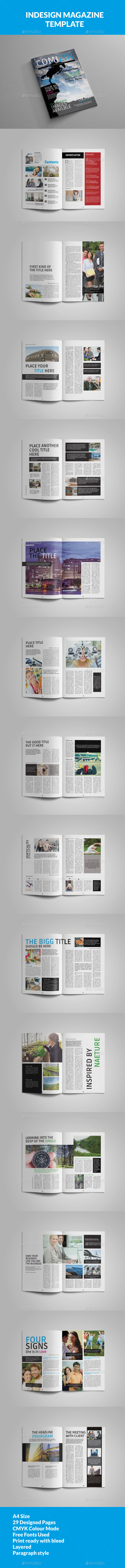 GraphicRiver Corporate Multipurpose Magazine Template 10992976