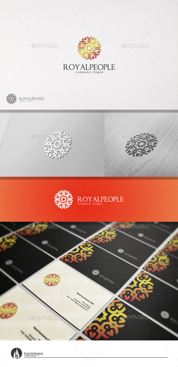 GraphicRiver Royal People Logo 10993035