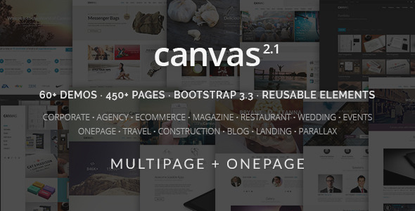DOWNLOAD - Canvas | The Multi-Purpose HTML5 Template