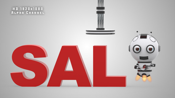 VideoHive Robot SS2 Sale Animation 10993393