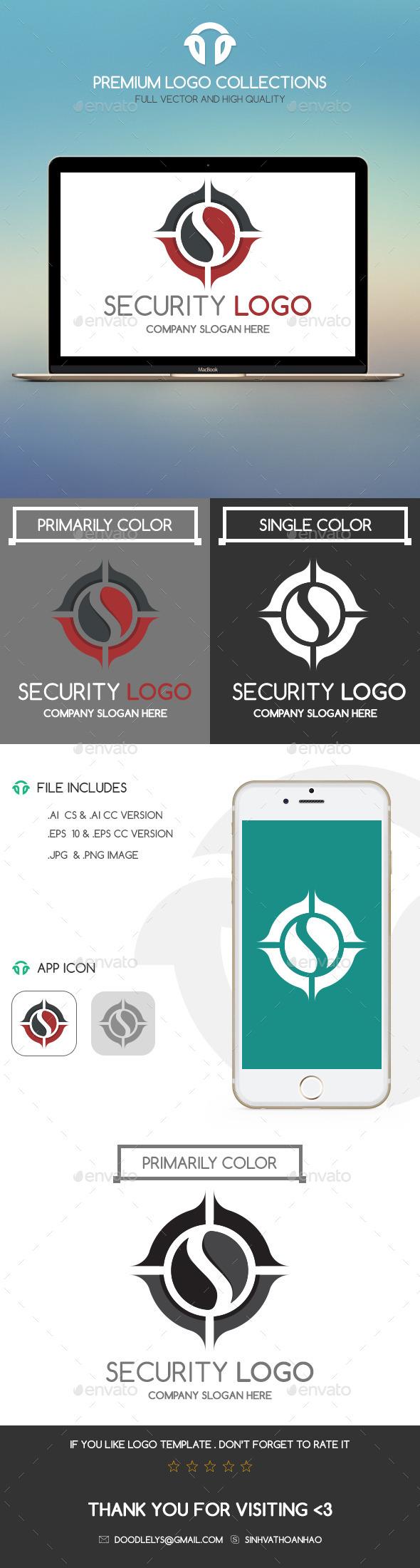 GraphicRiver Security Logo 10993610
