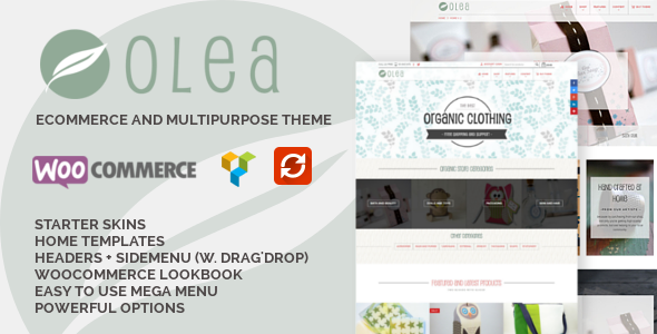 ThemeForest Olea Sell handmade creative & craft goods 10755081