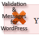 Validation & Messages Library for WordPress - CodeCanyon Item for Sale
