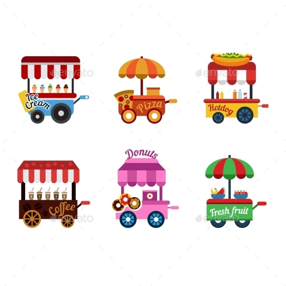 GraphicRiver Food Trolley 10993931