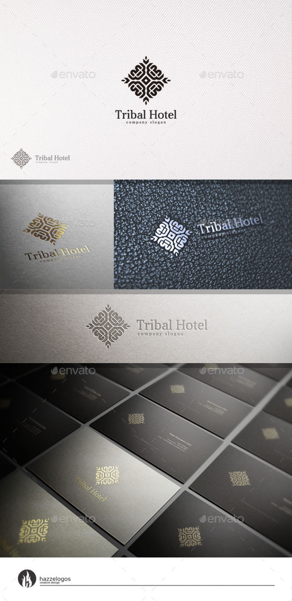 GraphicRiver Tribal Hotel Logo 10994085