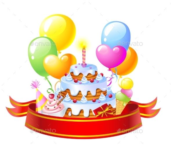 GraphicRiver Birthday Cake 10994208