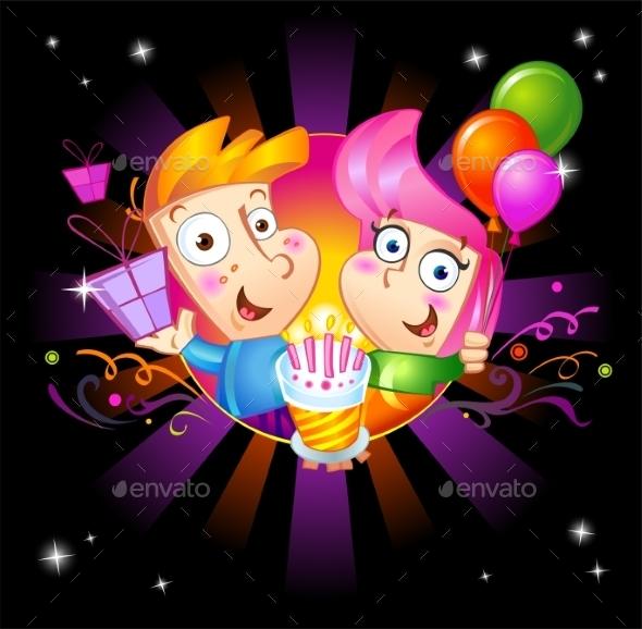 GraphicRiver Birthday 10994238
