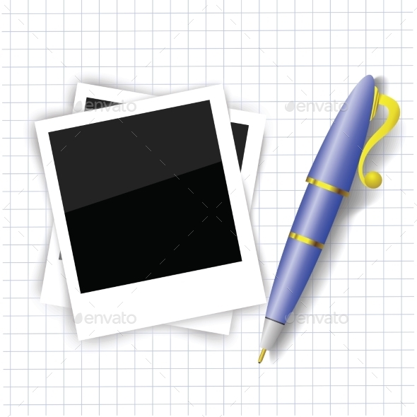 GraphicRiver Frames and Pen 10994239