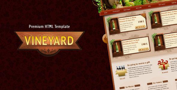 ThemeForest Vineyard HTML Template 9803006