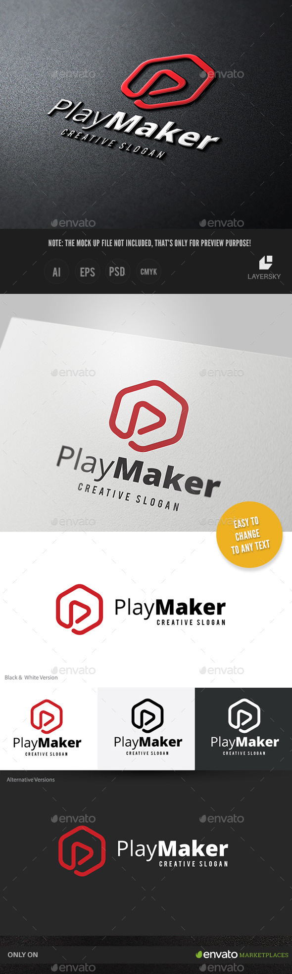 GraphicRiver Play Maker 10994650