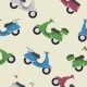 Retro Scooters  - GraphicRiver Item for Sale