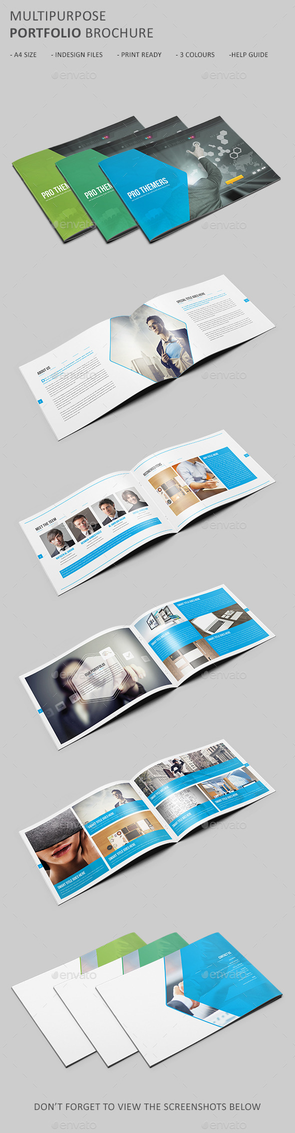 GraphicRiver Portfolio Brochure Template 10994886