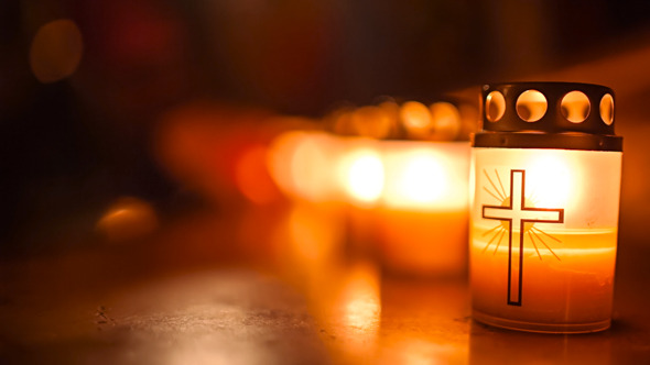 Night of Churches Burning Candles