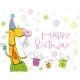 Birthday Giraffe - GraphicRiver Item for Sale