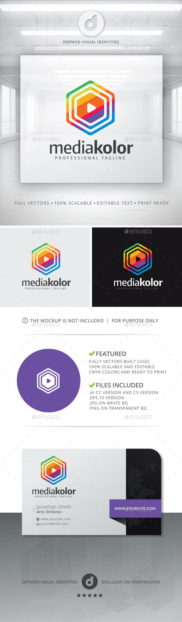 GraphicRiver MediaKolor Logo 10995251