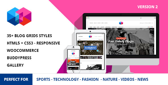 Smew - Multipurpose Magazine Wordpress Theme