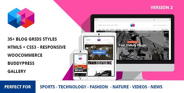 Smew - Multipurpose Magazine Wordpress Theme