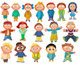 Cheerful And Playful Children's Pack