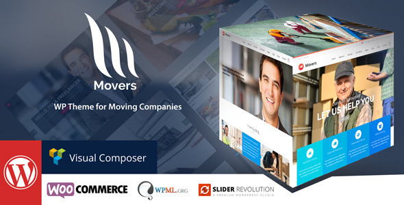 ThemeForest Mover Moving Company Wordpress Theme 10663707