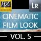 30 Cinematic Film Look Lightroom Presets VOL.5 - GraphicRiver Item for Sale