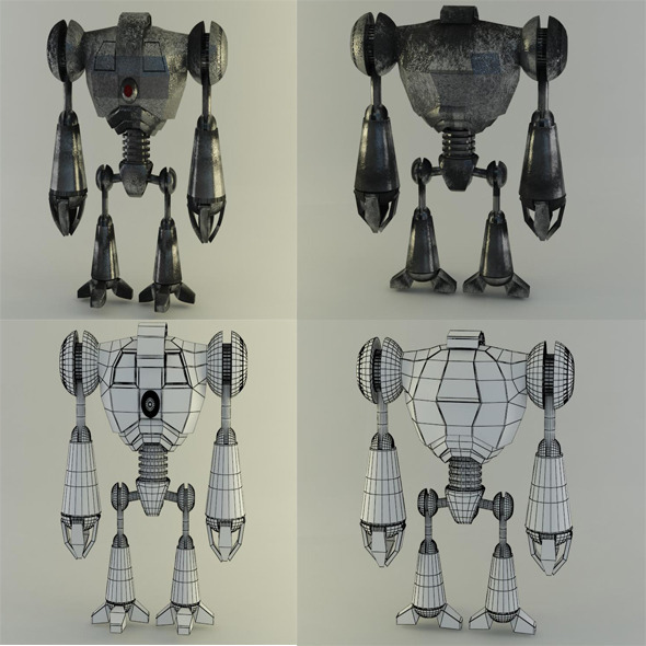 robot1 - 3DOcean Item for Sale