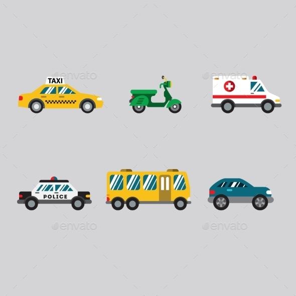 GraphicRiver Transportation Icon Series 10995903
