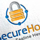 Secure Host Logo Template - GraphicRiver Item for Sale