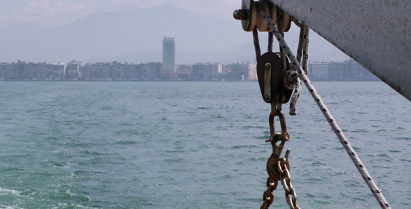 The City and Sea Inside the Ferryboat