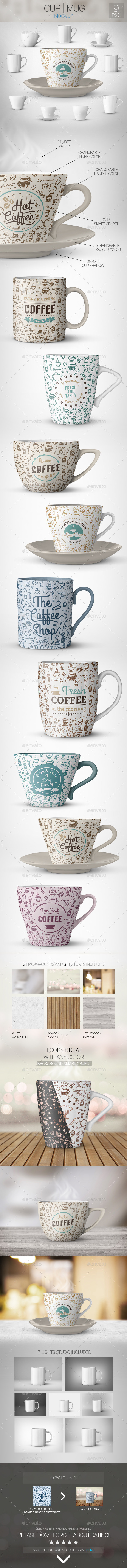 GraphicRiver Cup Mug Mock-Up 10996648