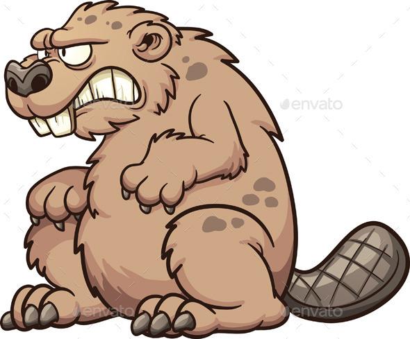 GraphicRiver Prehistoric Beaver 10996961
