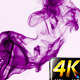 Abstract Purple Fluid Smoke Element Turbulence - VideoHive Item for Sale