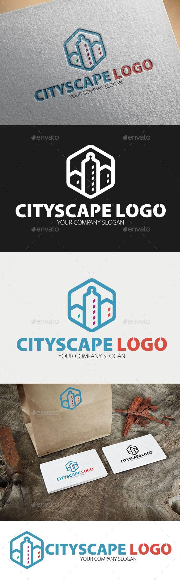 GraphicRiver Cityscape Logo Template 10997502