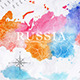 Watercolor Map of Russia - GraphicRiver Item for Sale