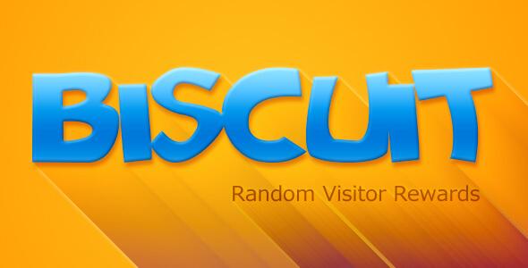 CodeCanyon Biscuit Random Visitor Rewards 10997716
