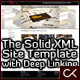 The Solid XML Site Template with Deep Linking - ActiveDen Item for Sale