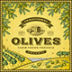 Vintage Olives Label - GraphicRiver Item for Sale