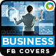 Business Facebook Facebook Covers - 2 Designs - GraphicRiver Item for Sale