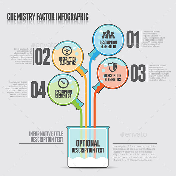 GraphicRiver Chemistry Factor Infographic 10998350