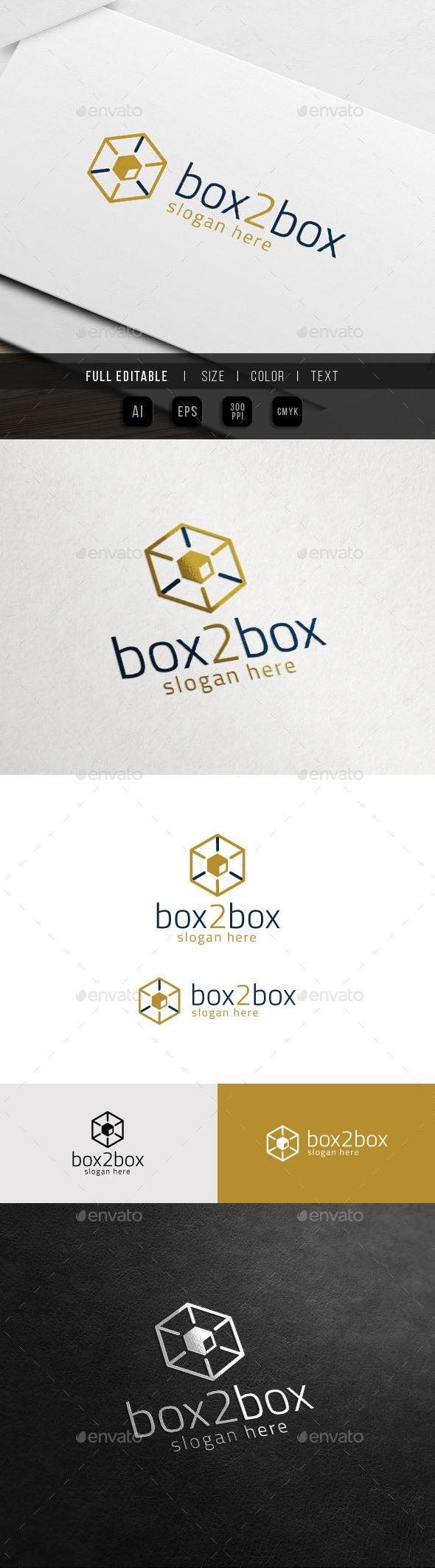 GraphicRiver Box Box Idea Hexa Gift Cube Hosting 10998436