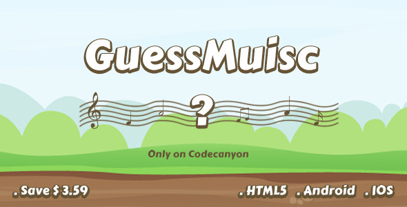 CodeCanyon GuessMusic 10950617