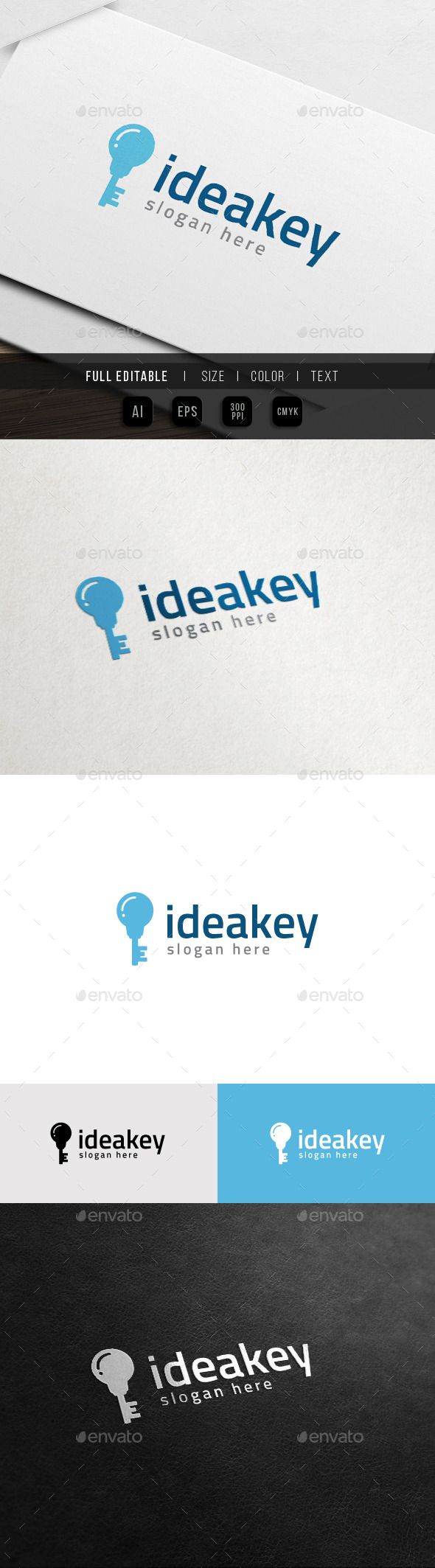 GraphicRiver Idea Home Architecture Idea Logo 10998649